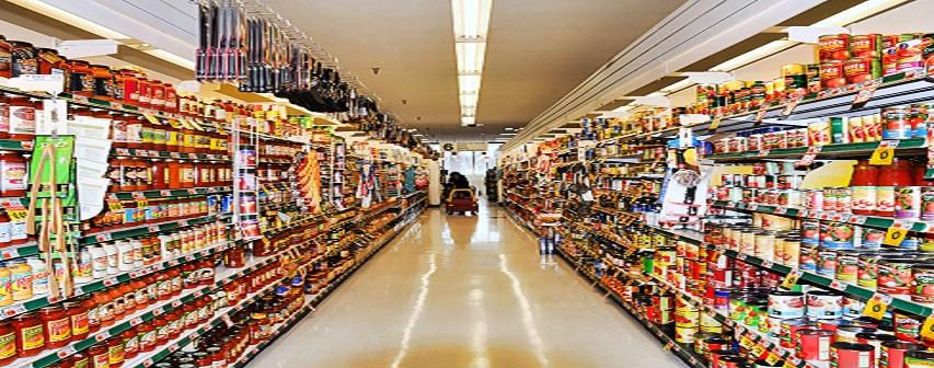 bao bì trong siêu thị